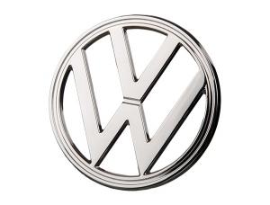 Front emblem chrome